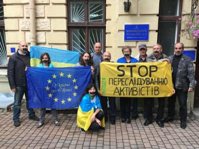 Group of activists sued for criticizing the state bodies in relation of Ukranian poultry oligarch activities